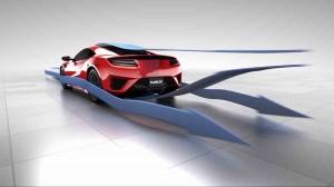 Honda NSX Aerodynmaik 2016