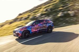 Jaguar F-Pace Erprobung 2