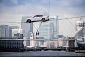 Weltpremiere Jaguar XF Generation zwei - London Dock am 24.03.2015