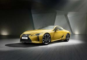 Lexus LC Yellow Edition - Paris 2018