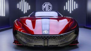 MG Cyberster Concept Sports Car - 2021