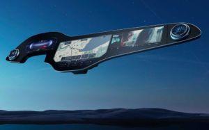 Mercedes EQS mit MBUX Hyperscreen 2021