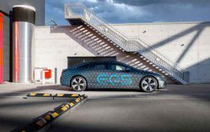 nMercedes EQS - Markteinführung 2021