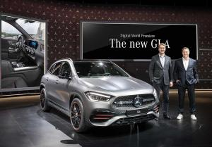 Mercedes GLA 2020 - Digitalpremiere
