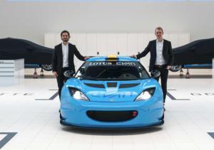Lotus Cyan Racing 2018 bei der schwedischen GT-Premiere 2018