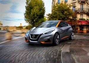 Nissan Sway Kleinwagenstudie Genf 2015