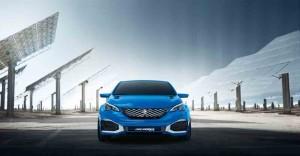 Peugeot 308 R Hybrid-Concept 2015