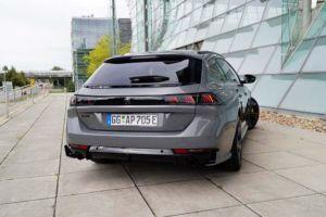 Peugeot 508 SW PSE Hybrid4 mit 360 PS und e-EAT8 - 2021