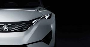 Peugeot  Fractal - Elektrostudie