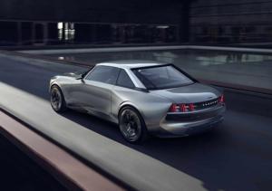 Peugeot e-Legend Concept - Paris 2018