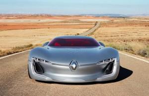 Renault Trezor Elektrostudie - Paris 2016