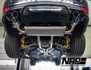 NAP Abgasanlage für Jeep Trackhawk