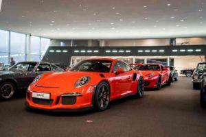 David Finest Sports Cars Showroom