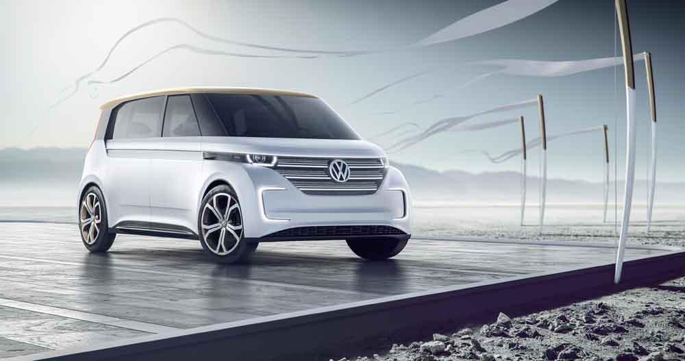 VW Budd-e auf der CES 2016