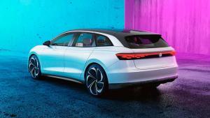 VW Studie ID. Space Vizzion - LA 2019