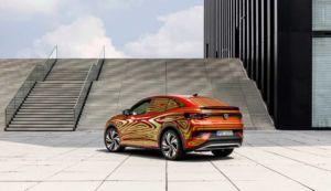 Volkswagen ID.5 GTX - Studie 2021 camoufliert