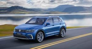 VW Tiguan Studie mit Plug-In-Hybridantrieb
