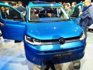 Volkswagen Nutzfahrzeuge Caddy Weltpremiere 2020
