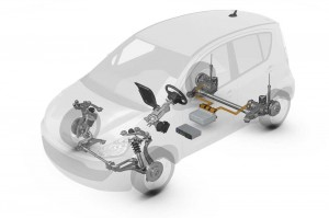 Elektrostudie ZF Smart Urban Vehicle