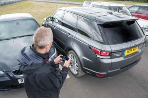 Jaguar Land Rover showcase a remote control Range Rover Spor