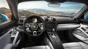 Interieur Porsche 718 Cayman