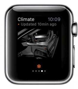 Porsche Connect - Apple Watch
