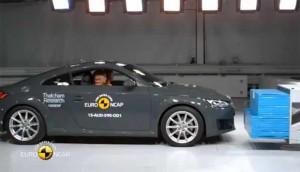 Audi TT Coupé patzt beim Euro NCAP