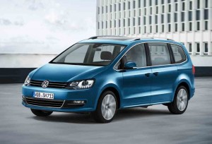 VW Sharan Facelift