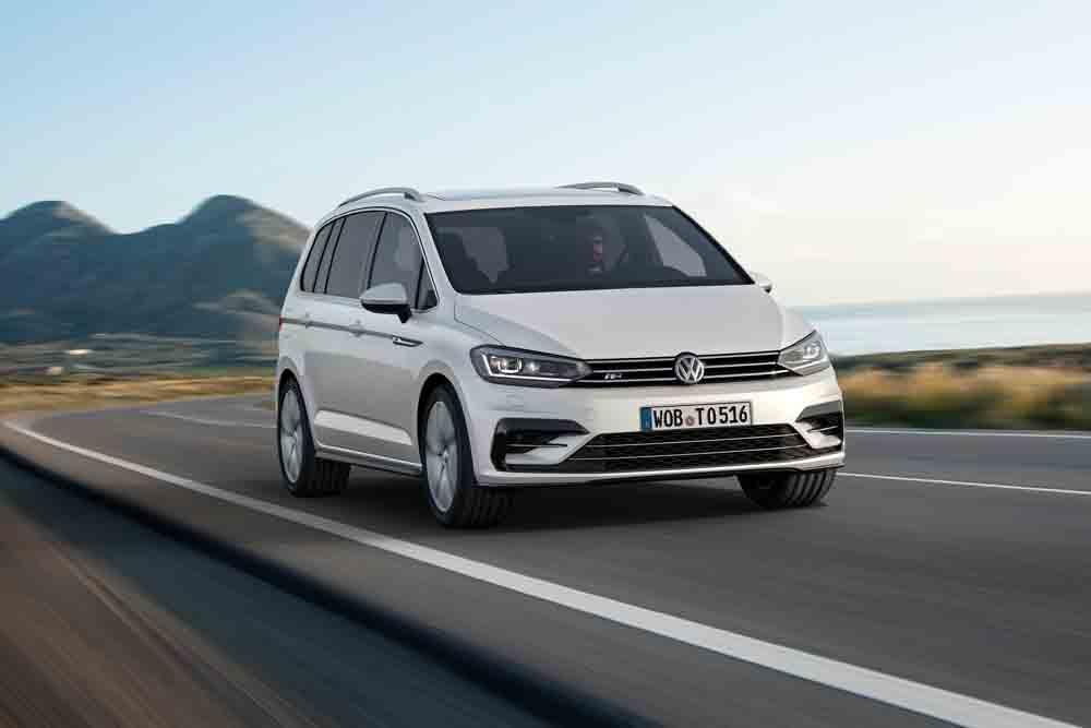 Der neue VW Touran R-Line - Modelljahrgang 2016